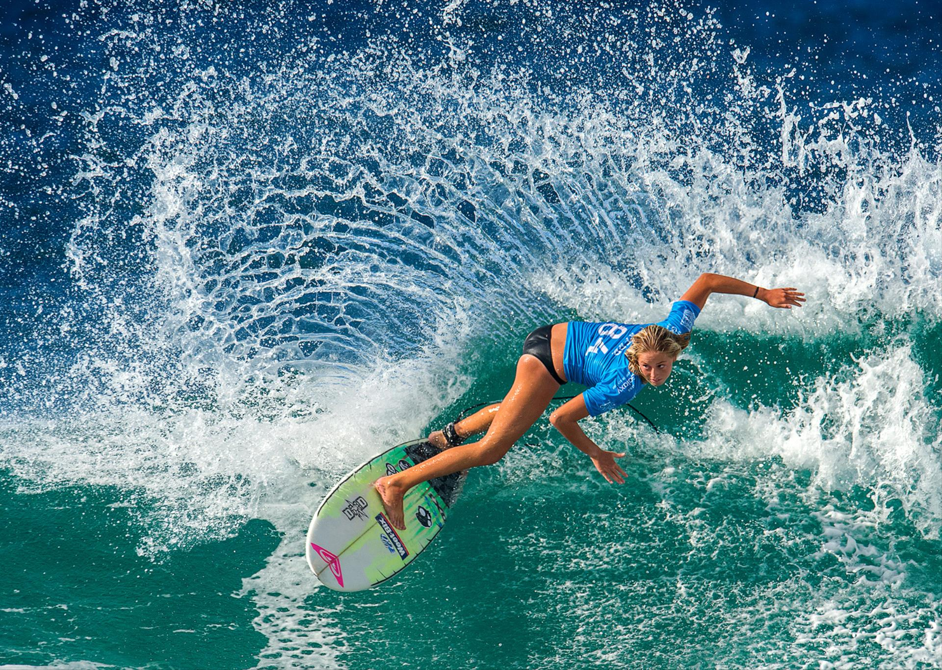 Certificate of Commendation - Xuehai Lu (China) - Surfing Girl