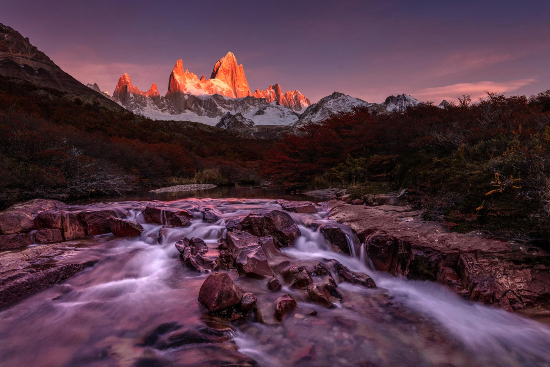 Golden Dragon Photo Award - Alexey Suloev (Russian Federation) - The First Rays-Fitz Roy